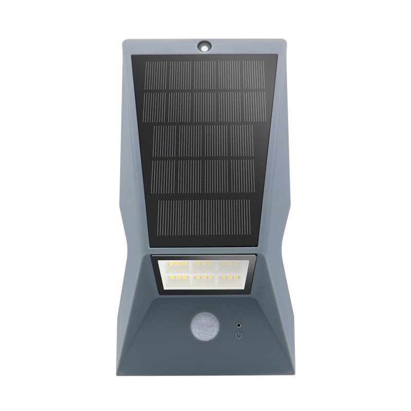 Modern Waterproof Remote Control Pir Garden Solar Wall Light Motion Sensor